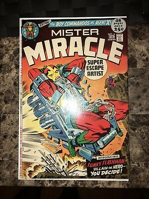 MISTER MIRACLE #6 (FEB 1972 DC) 1st Female Fury