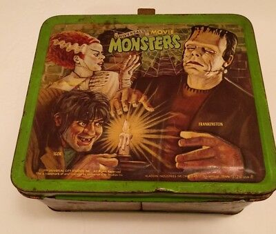 1979 Universal Movie Monsters lunchbox vintage no thermos