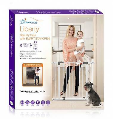 2x Dreambaby Liberty Security Gate with extensions