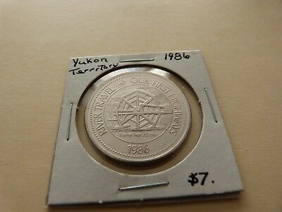 Yukon Territory Trade Dollar 1986 Lot 172-J