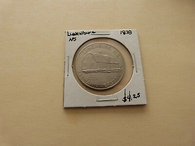 Lunenburg Ns Trade Dollar 1978 Lot 172-Y