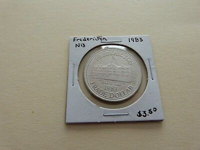 Fredericton Nb Trade Dollar 1983 Lot 170-A