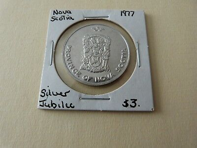 Ns Silver Jubilee Trade Dollar 1977  Lot 171-G