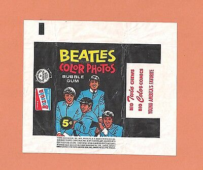 Beatles Wrappers 1964 from (3) different sets + ICE CREAM BONUS !!!!