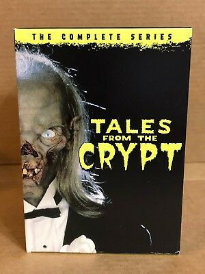 Tales from the Crypt: The Complete Seasons 1-7 (DVD, 2017, 20-Disc Set, BOX SET