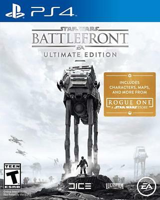 Star Wars Battlefront Ultimate Edition Sony PlayStation 4 PS4 VR Mode Included