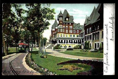 "1¢ Wonder's ~ 1906 Postcard W/ ""hotel Victory"" Put-In-Bay, Ohio ~ R725"