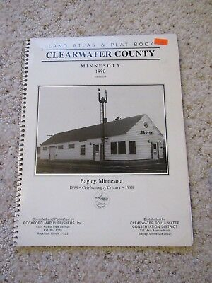 Land Atlas & Plat Book Clearwater County Minnesota 1998
