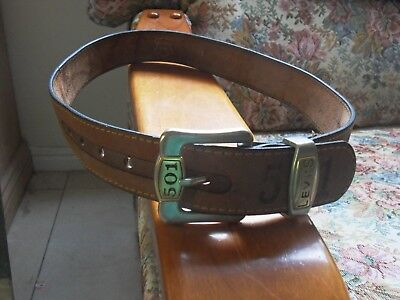 Levi's 501 Leather Belt Collectable 95/40