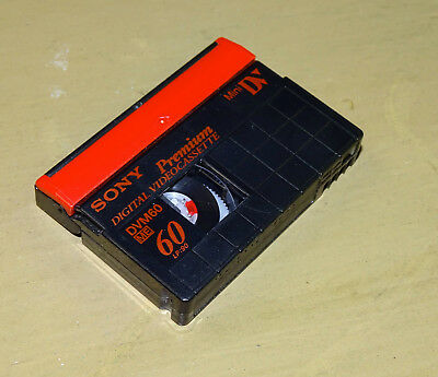 Used Sony Mini DV Cassette - mystery video - Not sure what is on this tape?
