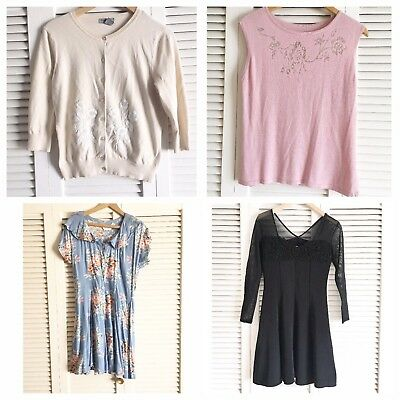 Vintage Clothing Lot Of 3 Size S