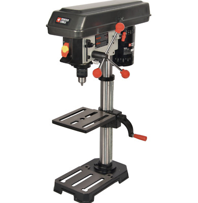 New Porter-Cable Bench Drill Press 3.2-Amp Adjustable Metal Wood Table Top Tool