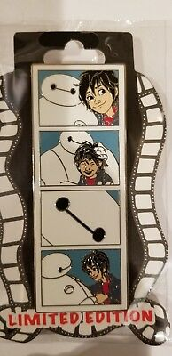 Disney DSF Pins Baymax & Hiro Photo Booth Big Hero 6 Strips Series LE400 Rare