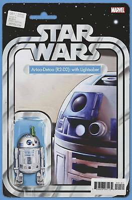 Star Wars #61 Christopher Action Figure Variant Marvel Comics R2-D2 Lightsaber