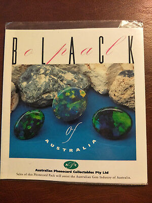 Mint & Sealed $10 Black Opal Phonecard Pack Prefix 1092