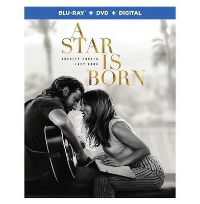 A Star Is Born(2018) BLU-RAY DVD DIGITAL (PRE-ORDER SHIPS 2-19-19) NEW