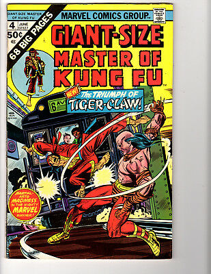 Giant-Size Master of Kung Fu #4 (6/75) F/VF (7.0)  Great Bronze Age!