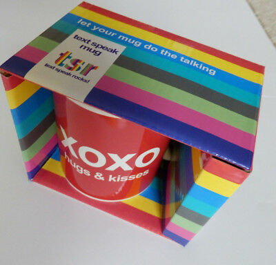 Case of 36 XOXO HUGS & Kisses Mugs NEW Individually boxed