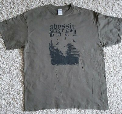 Abyssic Hate Shirt Size L (Darkthrone, Leviathan,I Shalt Become)