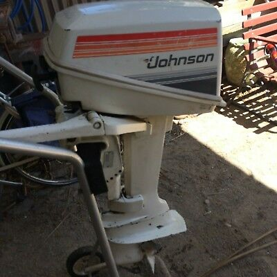 Johnson seahorse outboard  - 1980  J8RCSS 7.5hp - runs well