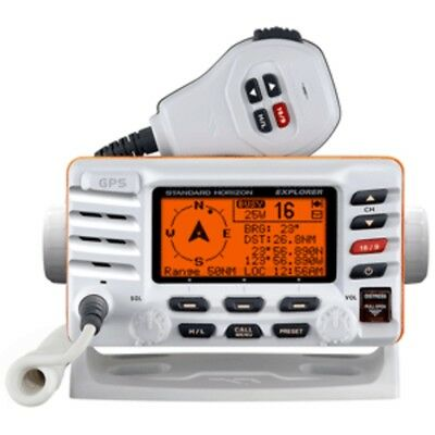 New Standard Horizon Explorer GX1700W GPS Fixed Mount VHF - White