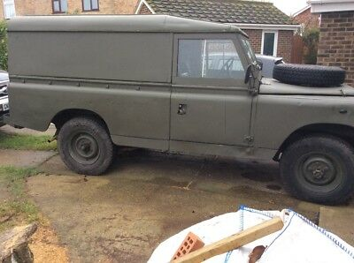 land rover series 2a Lwb 1968