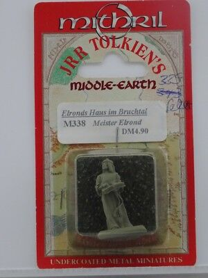 """New/Blister M338 """"Elrond"""" (Mithril) 101005004"""