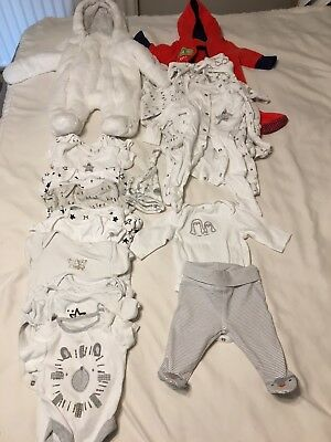 Girls Boys Unisex Baby Bundle Including Snowsuits - Tiny Baby/Newborn/up to 1m