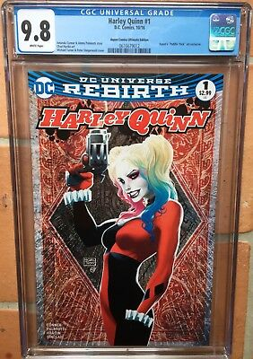 Harley Quinn #1 Rebirth Aspen Pudding Pack Ultimate Edition CGC 9.8