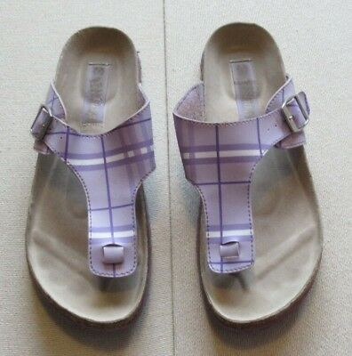 Miss Fiori Women/'s Flip Flops New With Tags Size 6 or 7 White RRP £12.99