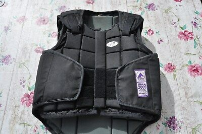 ✪ Kinder Reitweste, Sicherheitsweste USG Flexi Body Protector, Gr. Child L