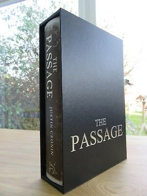 The Passage by Justin Cronin (Hardback, 2010) signed lined dated 1st edition