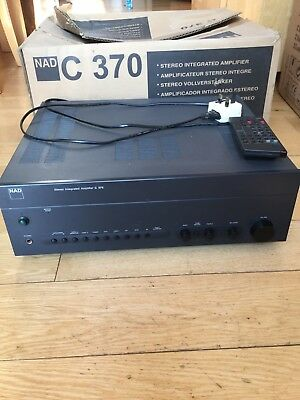 NAD  C370 Stereo Integrated Amplifier