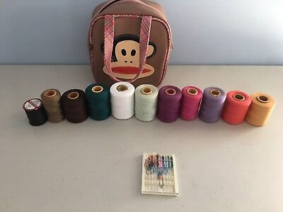 All-in-One Sewing Kit. 11 Colors. Needles and Bag.