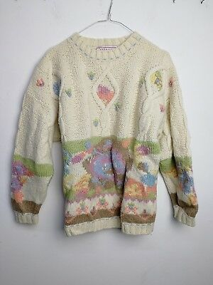 MAGLIONE STEFANEL FIRST WOOL  CULT VINTAGE 90s  TG S MG139