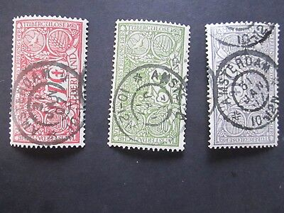 stamps, Holland Amsterdam B1-3