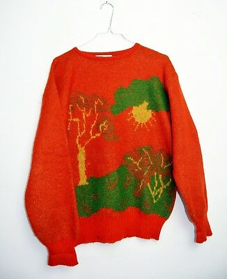 MAGLIONE BENETTON CULT VINTAGE 90s MADE IN ITALY INDIE HIPSTER TG 50 MG69