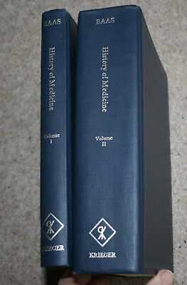 Outlines of the History of Medicine, Baas. facsimile (1971) of 1889 Edn.