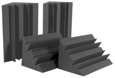 12X Acoustic Foam Bass Trap Corner Wall Sound Absorption Home Studio Treatment