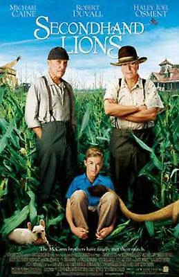 Secondhand Lions DVD 2004 Haley Joel Osment, Michael  NEW REGION 2 FREE UK POST