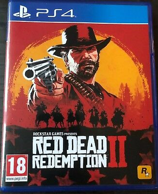 Uk Red Dead Redemption 2 (Sony PlayStation 4, 2018)
