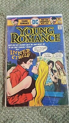 Young Romance Comics (DC) #207 1975 good condition in plastic.