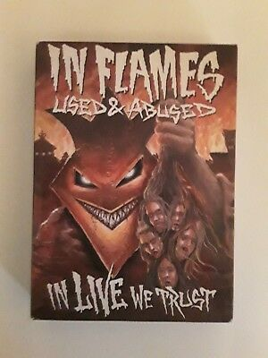 In Flames - User & Abused in Live we Trust CD/DVD package