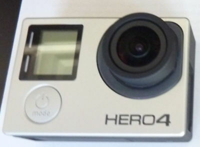 GoPro Hero 4 Camcorder - Black Edition + 64gb Micro SD card & Reader - Used