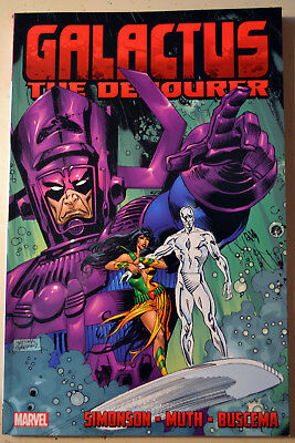 Marvel Comics Galactus the Devourer TPB Simonson, Buscema