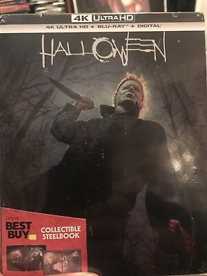 Halloween SteelBook 4K Ultra HD Blu-ray Digital Best Buy EXCLUSIVE 2018 SOLD OUT