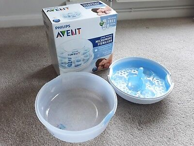 Philips Avent Microwave Baby Bottle Steriliser