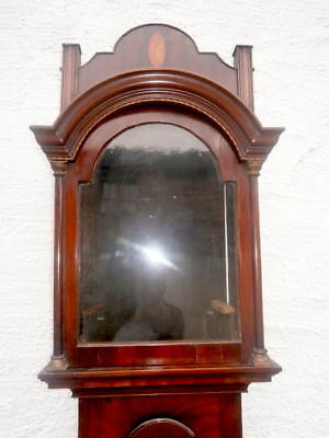 EARLY  mahogany  LONGCASE CLOCK  case for a  12X16+1/2 inch dial C1770