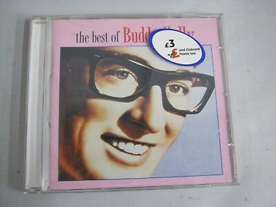 CD Music Album THE BEST OF BUDDY HOLLY (30)