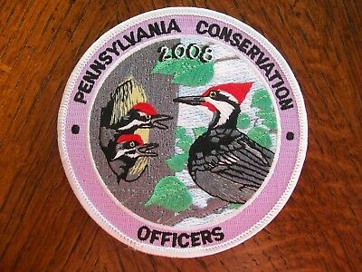 Pa Pennsylvania Game Commission 200  Woodpecker  Patch Conservation Officers